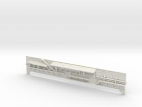 Shuttle MLP 1:72- Side 1 in White Natural Versatile Plastic