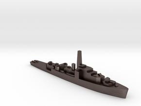 HMS Loch Shin 1:2400 WW2 frigate in Polished Bronzed-Silver Steel