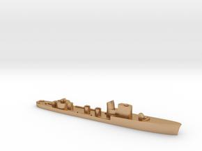 Italian Spica class WW2 torpedo boat 1:3000 in Natural Bronze