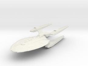 Federation Dakota Class refit II Cruiser V4 in White Natural Versatile Plastic