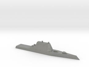 1/1250 Scale USS Zumwalt DDG-1000 Class in Gray PA12