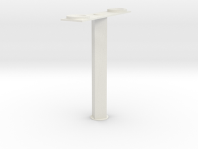 AFV  T Antenna Mount 1/35 scale in White Natural Versatile Plastic: 1:35