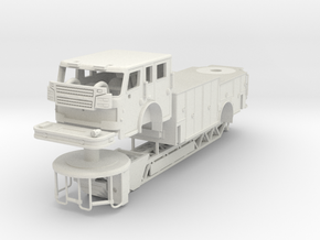 1/87 Rosenbauer Viper Single Axle in White Natural Versatile Plastic