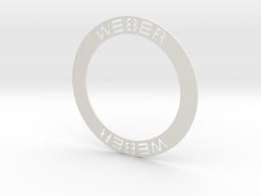 Weber White Wall Insert in White Natural Versatile Plastic