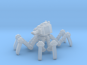 6mm - Spider tank in Smooth Fine Detail Plastic