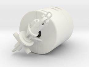Mobilis AMR 1500 mooring buoy - 1:50 in White Natural Versatile Plastic
