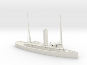 1/350 Scale 143-foot Seagoing Wooden Tug Fame in White Natural Versatile Plastic