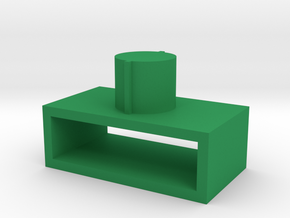 Sword case adapter for Fanstoys Apache 1 sword in Green Processed Versatile Plastic