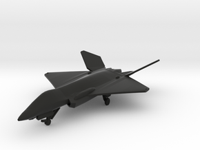 F-35F Lightning II Concept in Black Natural Versatile Plastic