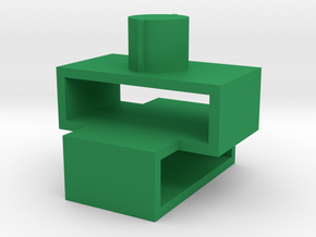 Sword case adapter for Fanstoys Apache 2 swords in Green Processed Versatile Plastic