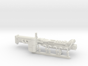Imperial Knight Sonic Cannon in White Natural Versatile Plastic