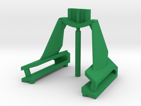 DX Chogokin YF-19 fold booster cradle replacement in Green Processed Versatile Plastic