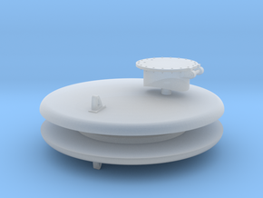 HOn3 USG Trinity Water Car Tank Ends & Hatch in Smooth Fine Detail Plastic