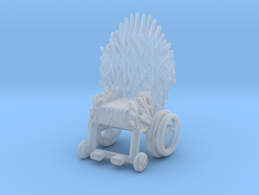 Game Of Thrones Ending Bran Throne meme miniature in Smooth Fine Detail Plastic
