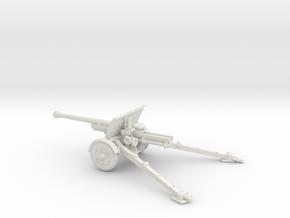 1/72 IJA Type 90 75mm Field Gun no seat in White Natural Versatile Plastic