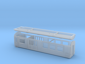 BDŽ D in Smooth Fine Detail Plastic: 1:87 - HO