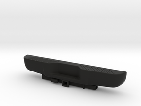 1/10 Ford Excursion Rear Bumper w hitch in Black Natural Versatile Plastic