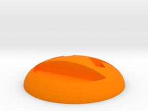 [1DAY_1CAD] EMOTICON_laugh in Orange Processed Versatile Plastic