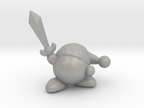 Kirby with Sword 1/60 miniature for games and rpg in Aluminum