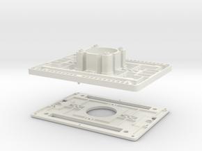 ELM-Gehäuse 2-teilig V2.05  in White Natural Versatile Plastic