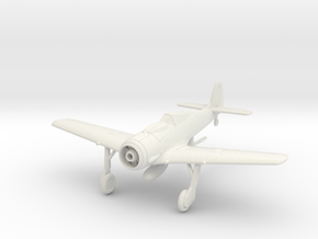 Focke Wulf 190-A-8 Wheels Down in White Natural Versatile Plastic: 1:144