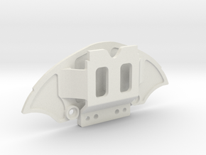 Mini-Z McLaren 12c front bumper (4 screws mount) in White Natural Versatile Plastic