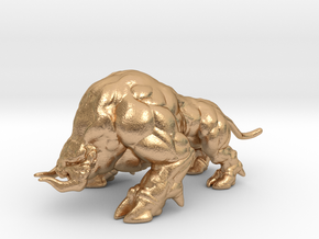 Ganon Giant Hog Beast 1/60 miniature games and rpg in Natural Bronze