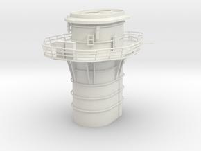 1/100 DKM Graf Spee Funnel in White Natural Versatile Plastic