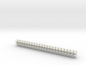 1:22,5 1507 Verkeersarmatuur 210 dubbel (23x) in White Natural Versatile Plastic