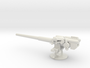 1/72 IJN Type 11 140mm Naval Gun in White Natural Versatile Plastic