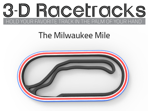 Milwaukee Mile Speedway | IndyCar in Full Color Sandstone