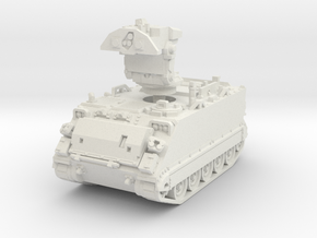 M901 A1 ITV (deployed) 1/72 in White Natural Versatile Plastic