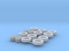 1/87 H6 Radsatz 2x in Smoothest Fine Detail Plastic