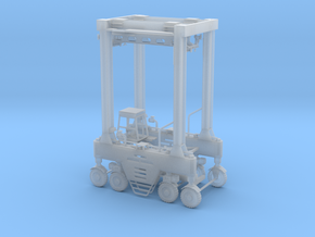 N Intermodal Straddle Carrier - No Safety Rails in Smooth Fine Detail Plastic
