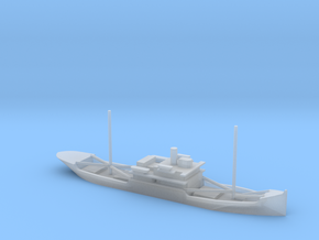 1/1800 Scale 3588 ton cargo steamer Quinault in Smooth Fine Detail Plastic