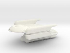 Oberth Todega  in White Natural Versatile Plastic