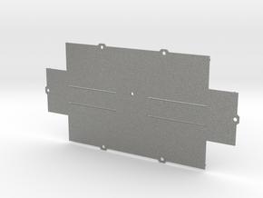 ZX-KEY Keyboard Case 'Bottom Plate' in Gray PA12