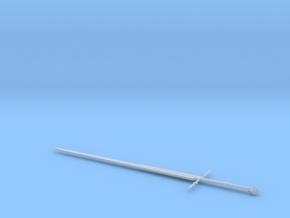 1:6 Miniature Ringwraith Sword - LOTR in Smooth Fine Detail Plastic