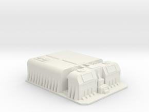 Sci fi factory/military compound in White Natural Versatile Plastic