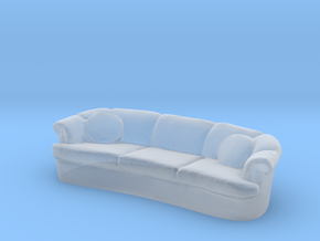 Sofa 1/24 in Smooth Fine Detail Plastic