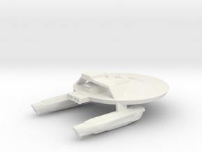 System Fleet U.S.S. J.Y.D. in White Strong & Flexible