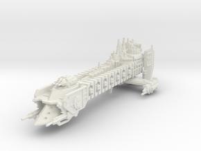 Barcaza de Batalla de renombre El Contrador  in White Natural Versatile Plastic