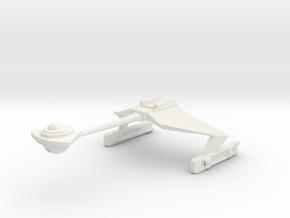 KLINGON D6 in White Natural Versatile Plastic