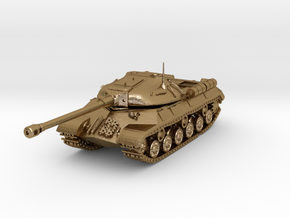 Tank - IS-3 / Object 703 - size Large in Polished Gold Steel