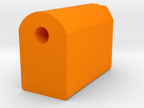J.W. Cassian Suppressor (14mm-) in Orange Processed Versatile Plastic
