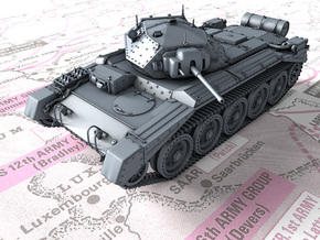 1/160 (N) Crusader Mk I Medium Tank in Smoothest Fine Detail Plastic