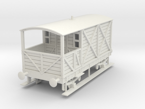 a-32-gwr-L355-1886-brake-van in White Natural Versatile Plastic