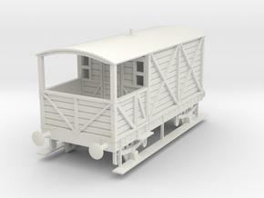 a-43-gwr-L355-1886-brake-van in White Natural Versatile Plastic