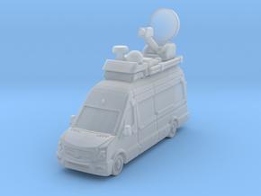 TV truck Sprintr L3H3 2017 in Smoothest Fine Detail Plastic: 1:200