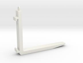 Huina 583 pallet forks in White Natural Versatile Plastic